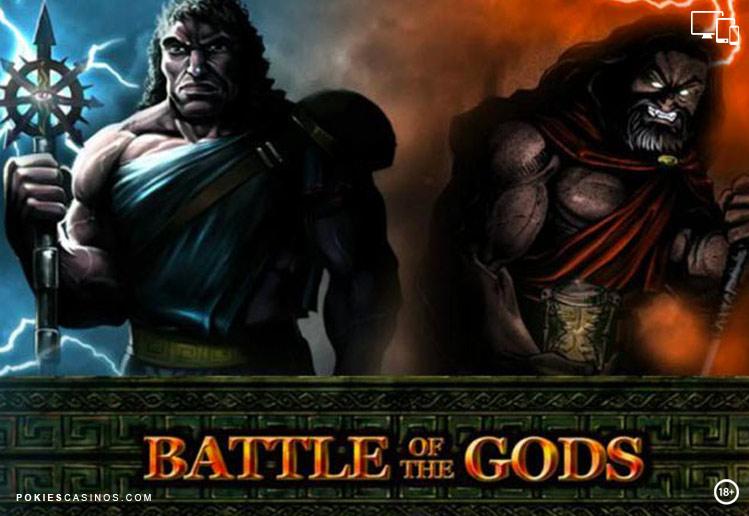 Battle of the gods popular pokie