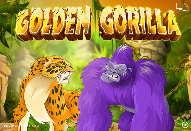 Golden Gorilla Pokie By Rival Gaming
