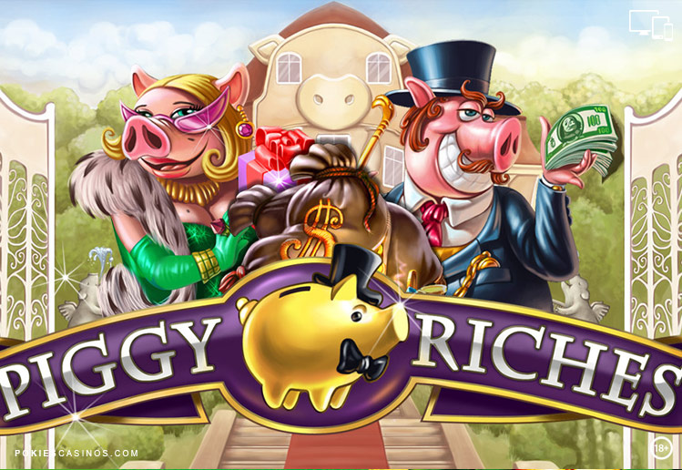 Piggy Riches free spins pokie