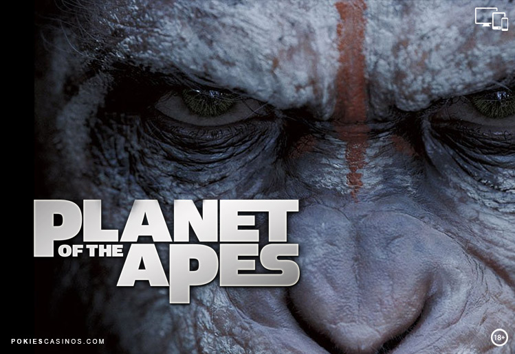 Planet of the Apes Pokie by Netent