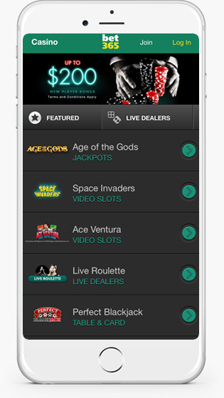 bet 365 mobile play