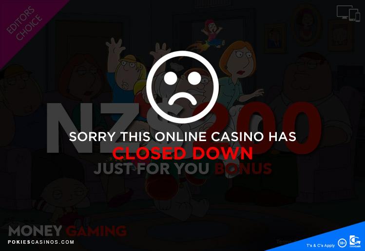 money gaming casino closed down
