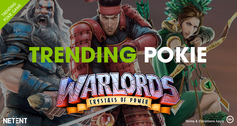 Warlords Trending Pokie Game