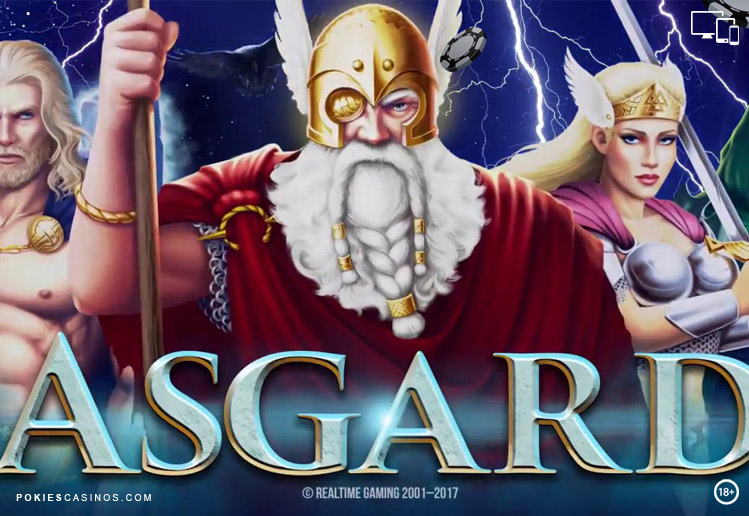 243 ways to win Asgard pokie