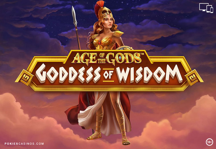 Play the Age of the Gods: Goddess of Wisdom Slot at Casino.com UK