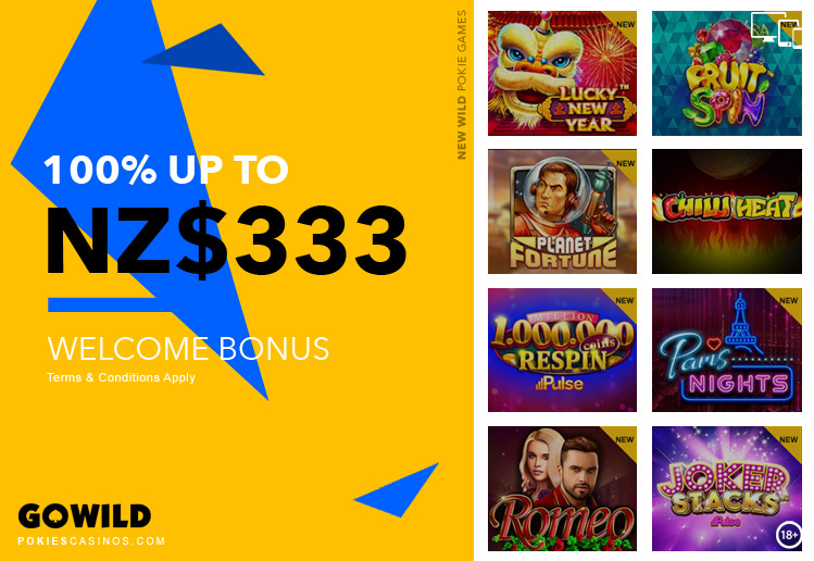 Go Wild casino Player Welcome Bonus