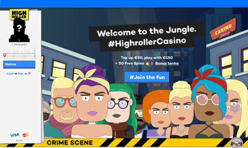 High Roller Casino official website