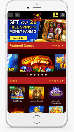 Mongoose Casino mobile play