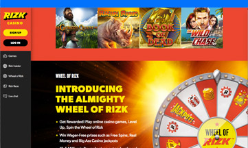 Rizk official website
