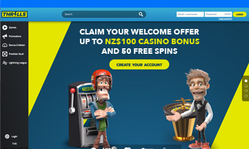 Thrills Casino official website