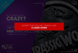 Crazy Vegas Casino Closed