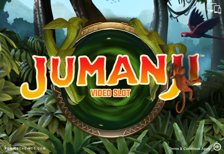 Jumanji video slot by netent software