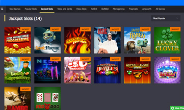 Roy Richie Casino featured pokie games
