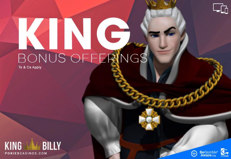 king billy free spins bonus casino