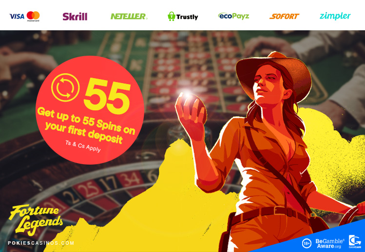free slot spins on fortune legends