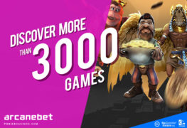 arcanebet casino with 3000 playing casino games
