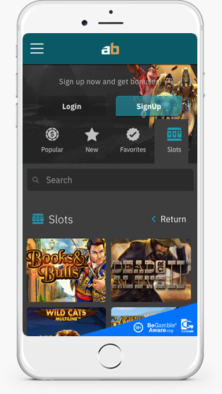 ArcaneBet casino mobile play