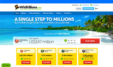 WinTrillions official website