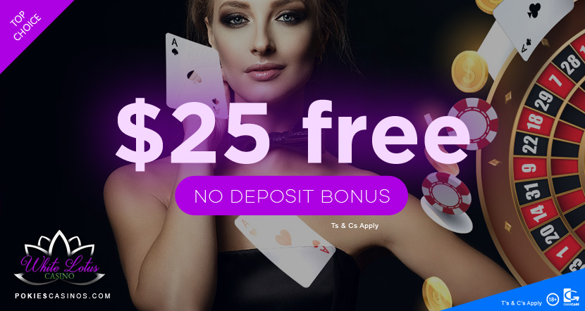white lotus casino is offering a new player bonus of 1500