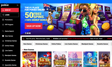 Pokies Place Casino official website
