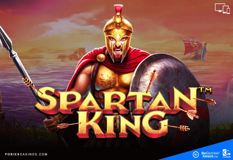 spartan King playing pokie