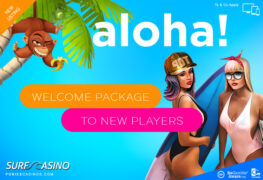 surf casino offering new players weekly bonuses
