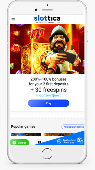 Slottica mobile play