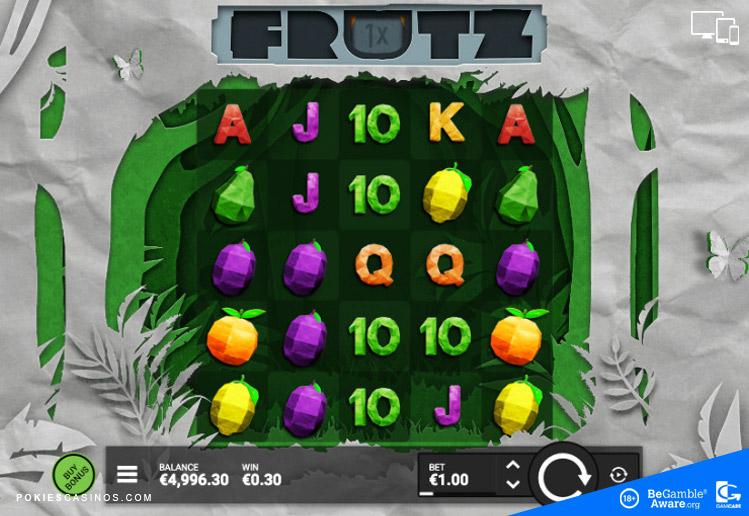 Frutz Slot by Hacksaw Gaming