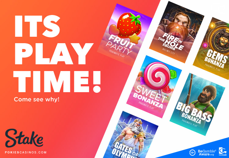 stake casino listing modern slot games
